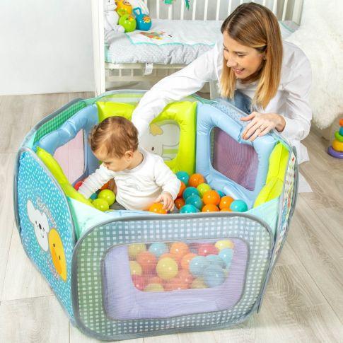 foto piscina de bolas bebé