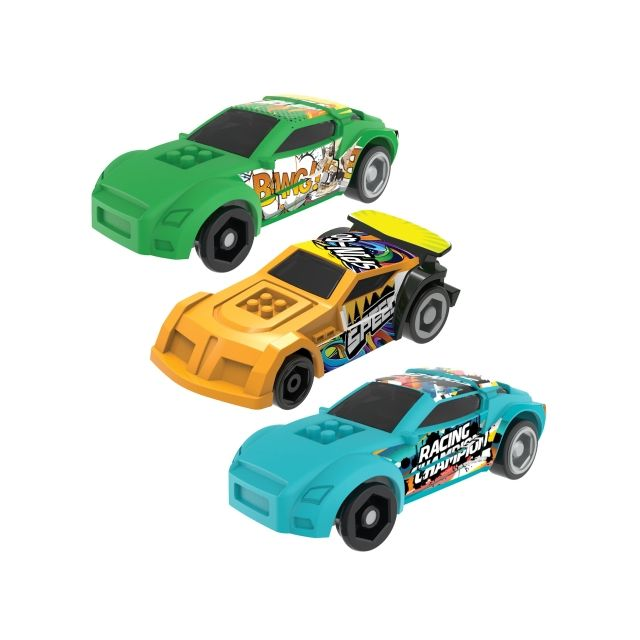 CRAZY RACE X3 CARS