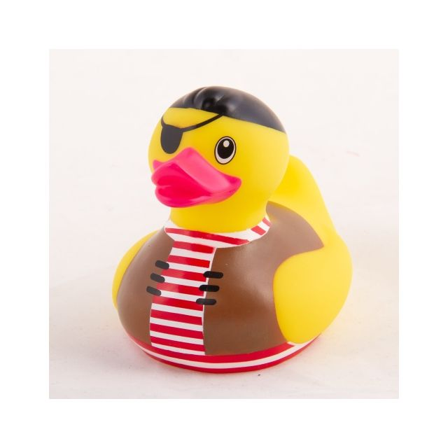 AHOY DUCK! YELLOW PIRATE