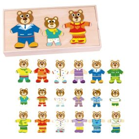 TEDDY FAMILY PUZZLE
